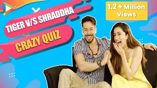 Tiger Shroff v/s Shraddha Kapoor - DHAMAKEDAR Quiz on Rebellious Characters | Baaghi 3