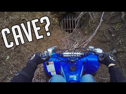 YFZ 450 Raptor 700 ATV Trail Riding Adventure - Out discovering new caves to explore
