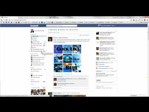 How To Create and Modify Favorites On Facebook