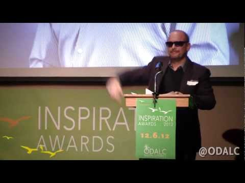 THIS is how you accept an award. ASK.com CEO Doug Leeds.