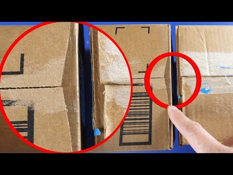 Why Your Amazon Boxes are Tapered