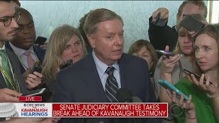 Sen. Lindsey Graham: Ford A 'Nice Lady', But Story Is Uncorroborated