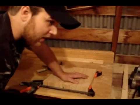 Building A Homemade Longboard Press: Part 1