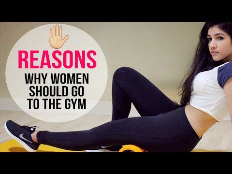 5 REASONS WHY WOMEN SHOULD GO TO THE GYM | ADDICTED | WORKOUT | ABS | FIGURE | CURVY BODY