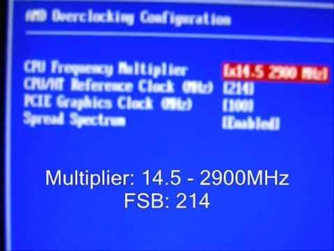 AMD Athlon X2 5600 Overclocking 3.1GHz