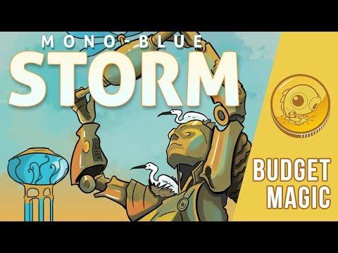 Budget Magic: $92 (33 tix) Mono-Blue Storm (Standard)