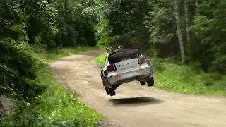 WRC Rally Finland 2015 - Crashes/Mistakes