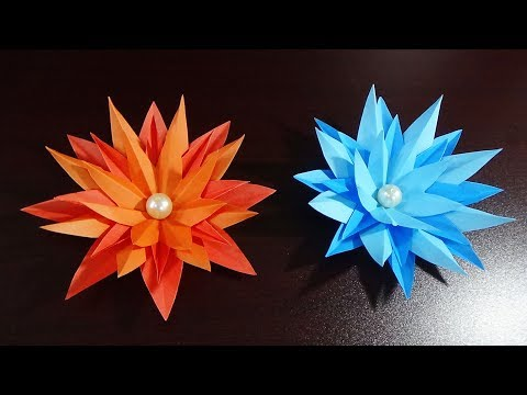 DIY Paper Flower | Home Decor |  Easy And Simple Steps |