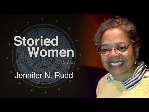 Storied Women of MIT: Jennifer N. Rudd
