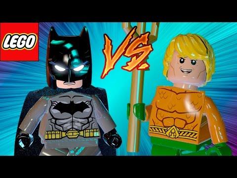 LEGO Batman 3 | Batman VS Aquaman em Briga de Herois #20