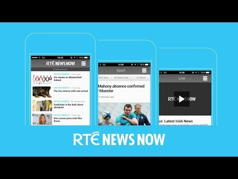 All about the new RTÉ News Now App