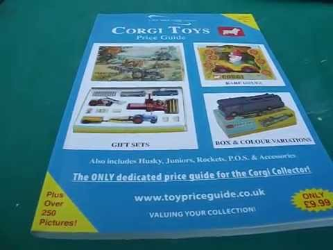 1st edition corgi toys price guide over 250 pictures book includes husky review
