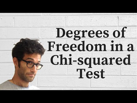 Degrees Of Freedom in a Chi-Squared Test
