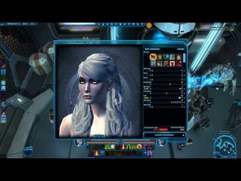 SWTOR 2.1 ~ New Female Hairstyles