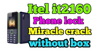 How to reset || and privacy unlock itel || it2160