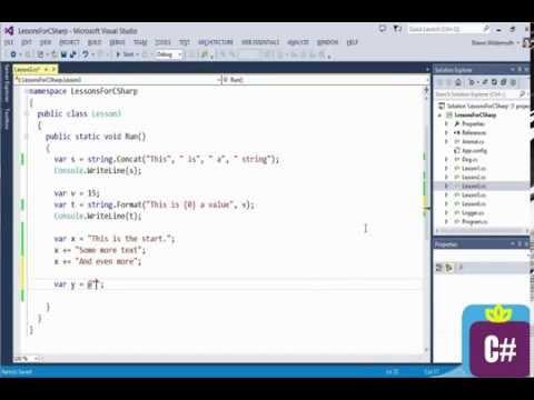 C# Tip 4  String Concatenation