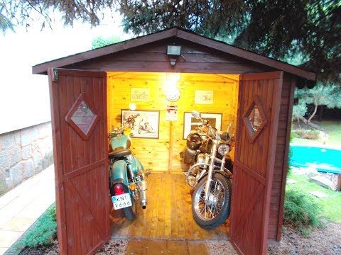 $300 Motorcycle Shed (please read the detailed description below)