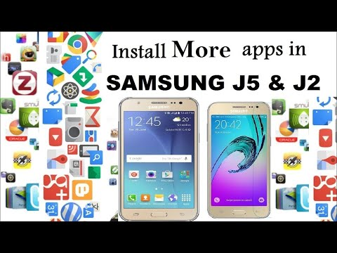 How to Install Unlimited Apps in Samsung J2 & J5 [URDU/HINDI]