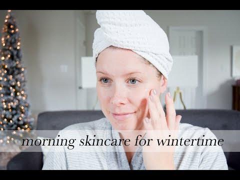 Winter Morning Skincare Routine