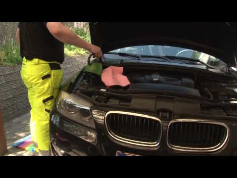 BMW 3-Series E9x, Windshield washer pump repair