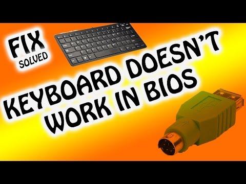 FIX |  KEYBOARD DOESN'T WORK IN BIOS / BOOT MENU | [SOLVED]