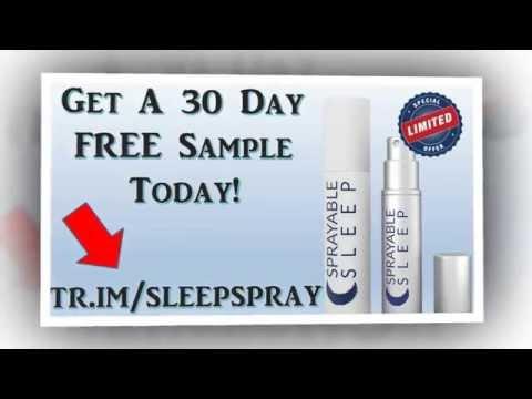 Sprayable Sleep| Sprayable Sleep Review|Sleep Spray|Seep Aids Natural|Night Sleep Aid|Price|Free
