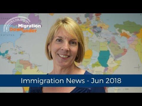 Latest Immigration News June 2018