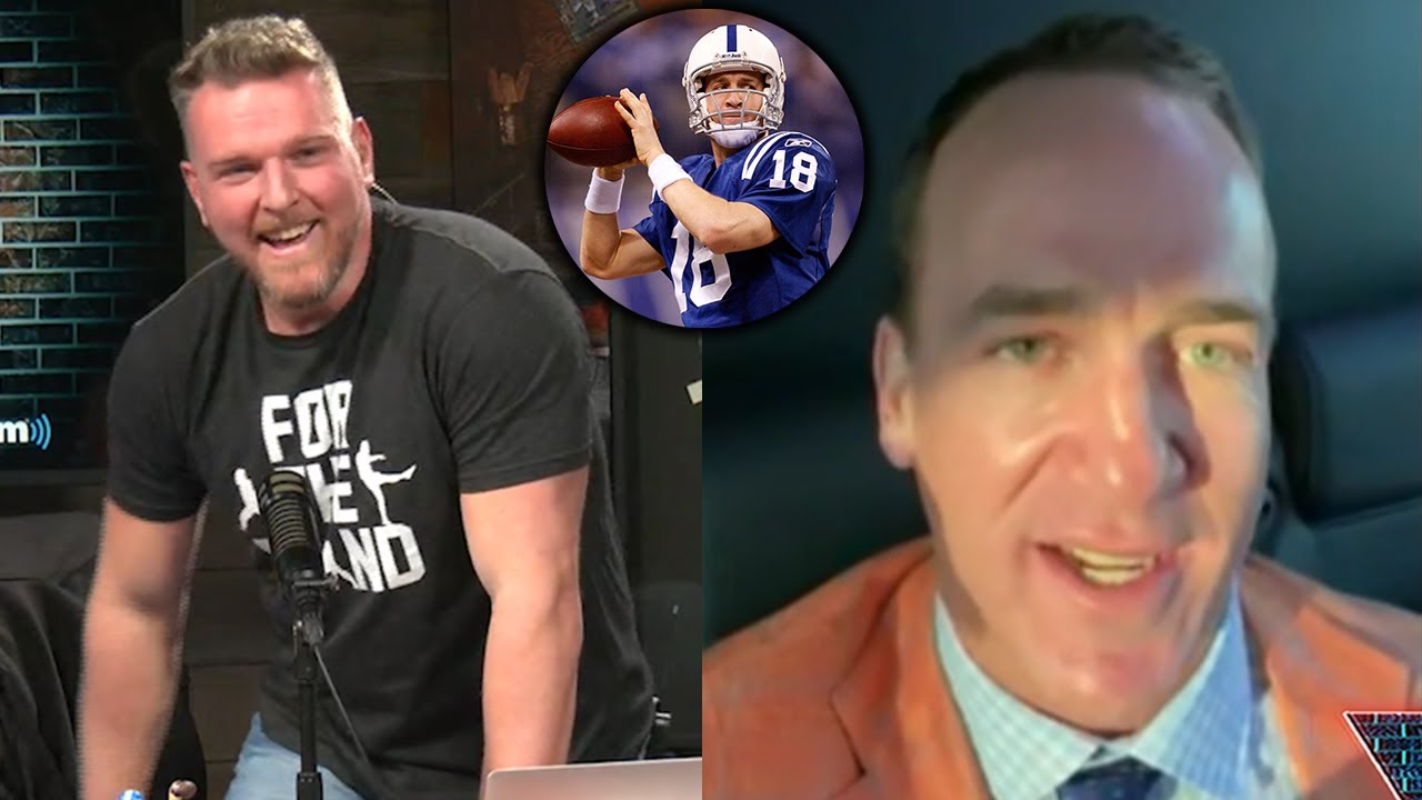 Peyton Manning Tells Pat McAfee Why Tom Brady Is So Successful