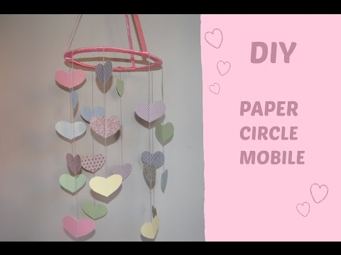 DIY ♡ Paper mobile for baby | Decor Line |