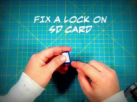 Unlock broken SD Card