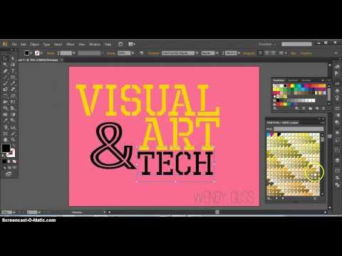Illustrator/VAT : Simple Cover page for Slides portfolio