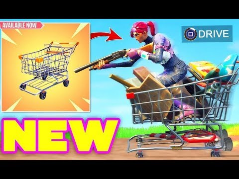 NEW SHPPING CART IS HERE! - FORTNITE BATTLE ROYAL