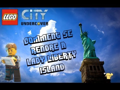 [Astuce] Comment se rendre à LADY LIBERTY ISLAND (Lego City Undercover) |Wii U|