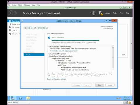 Upgrading to Windows 2012 Active Directory Domain Services (1/3)