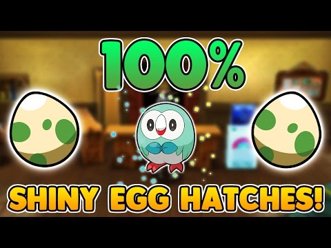 THE ULTIMATE 100% SHINY POKEMON EGG HATCHING GUIDE! EASY Shiny Pokemon Egg hatching in Sun and Moon