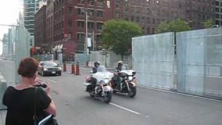 G20 motorcade Toronto 2010
