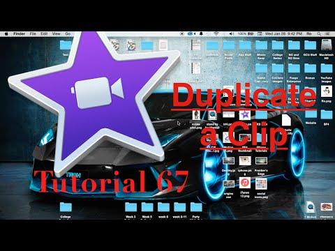 Duplicate Clips in iMovie 10.0.6 | Tutorial 67