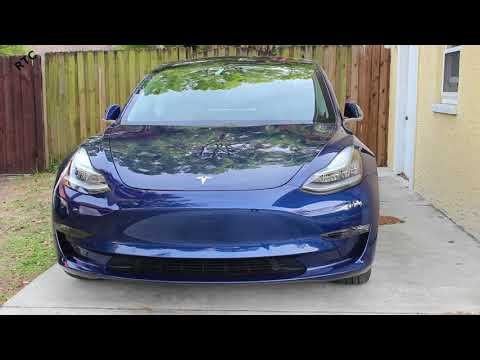 Tesla Model 3 - How To: Flash the Lights and Honk the Horn with the Phone App