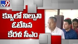 Kerala Cm Pinarayi Vijayan Casts His Vote - Tv9