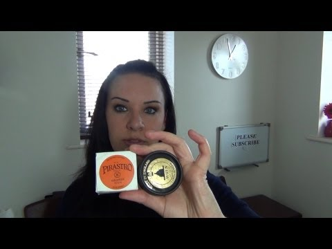 HOW TO: Rosin the Violin Bow & How Often.