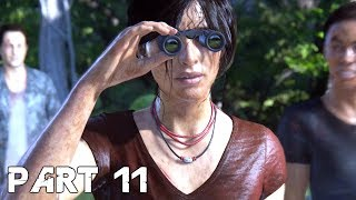 UNCHARTED THE LOST LEGACY Walkthrough Gameplay Part 11 - Sam Drake (PS4 Pro)
