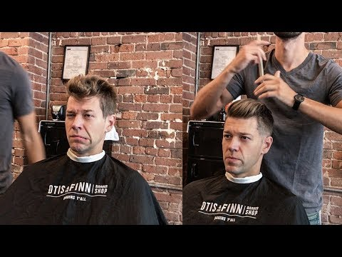 Traditional Pompadour Haircut Tutorial and Style | 0.5 Low Fade