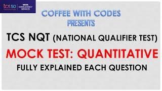 TCS Ninja Aptitude Test Questions and Answers for TCS Ninja