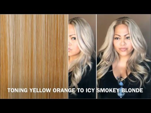 Best Way to Tone Brassy Hair