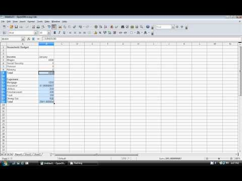 How to Create a Budget Template