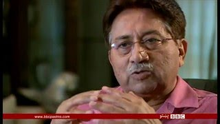 جنرال پرویز مشرف او افغانستان