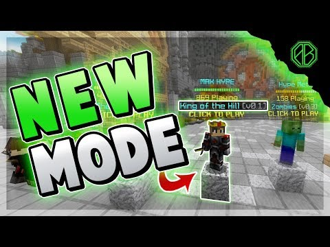 *NEW* HYPIXEL GAMEMODE... They RAGE QUIT! ( Hypixel King of the Hill )