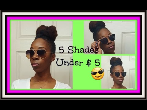SHADES UNDER $5 IKATEHOUSE / EBAY HAUL 😎