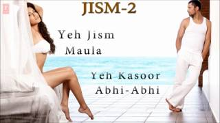 Jism 2 Full Songs | Sunny Leone, Randeep Hooda | EXCLUSIVE | Jukebox-1