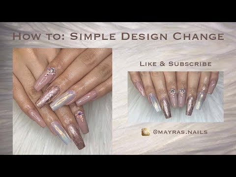 How to: Change Acrylic Nail Design